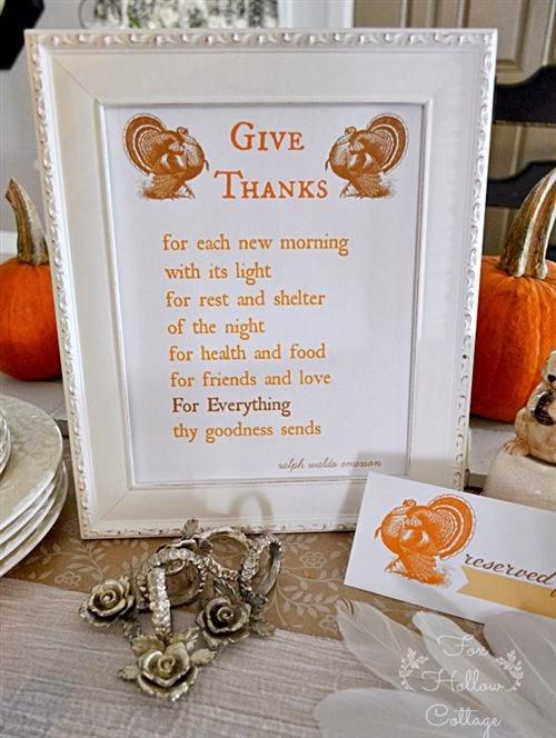 Best Thanksgiving Short Poems For Kids