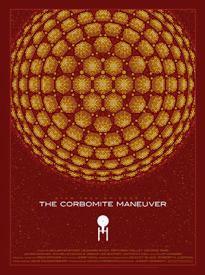 Star Trek: The Corbomite Maneuver Variant Screen Print by Todd Slater