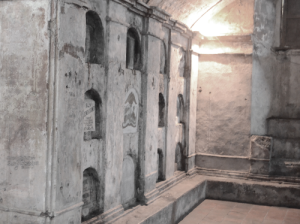 crypts of underground cemetery of Nagcarlan