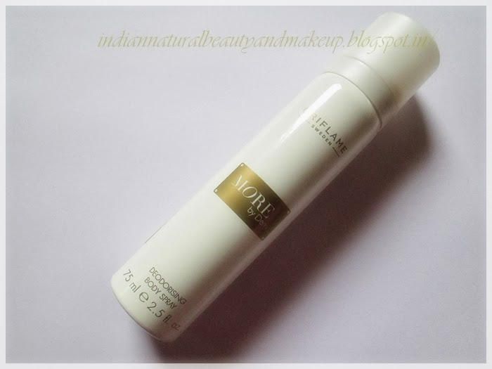 Oriflame More by Demi Deodorising Body Spray Review: