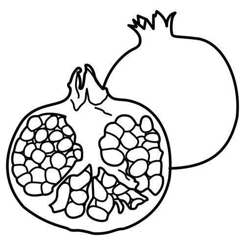Imagenes para colorear de granada  Imagui