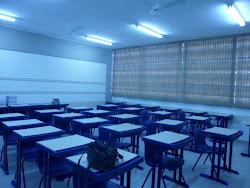 Minha nova sala de aula