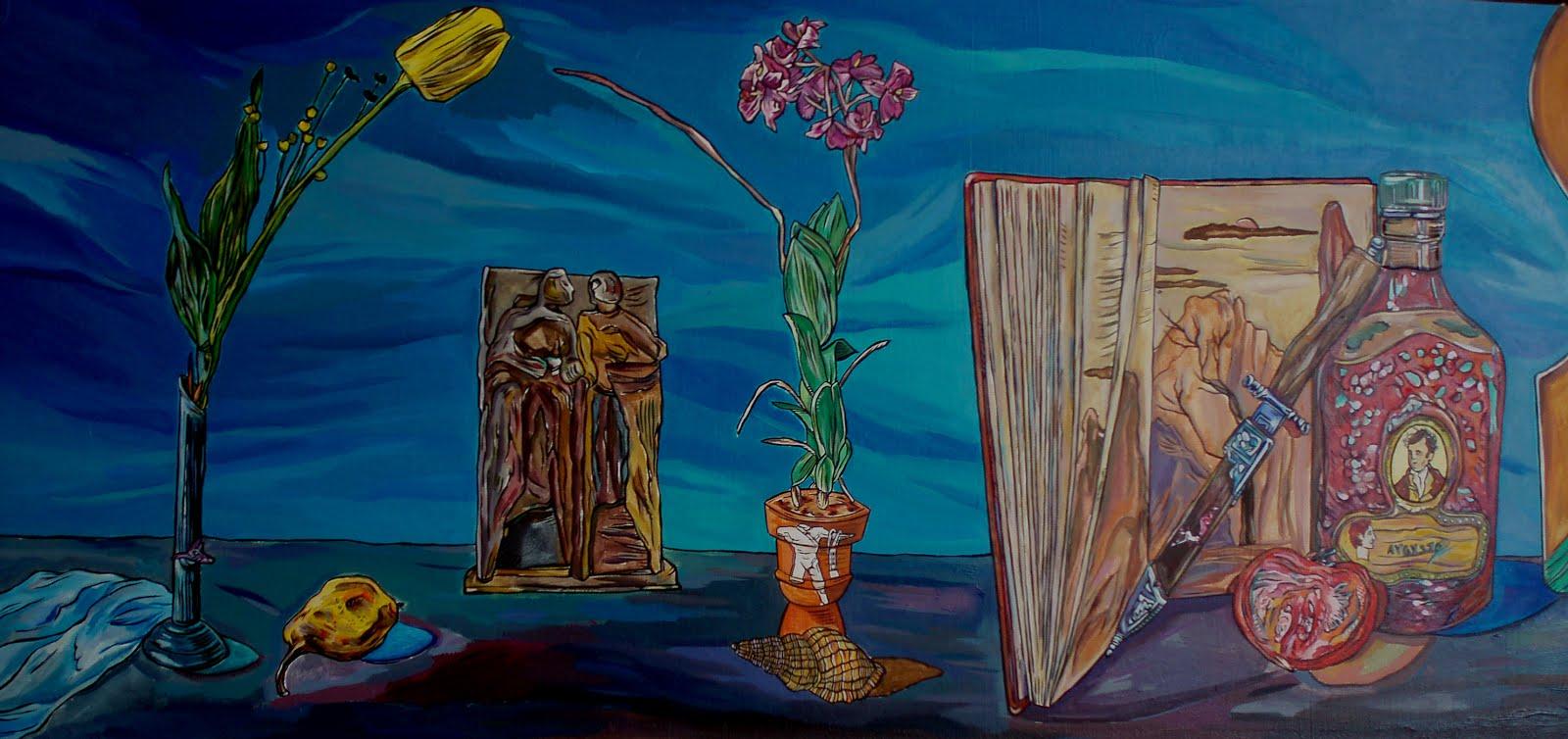 """Mural """"MITOCLASICISMOS"""""""