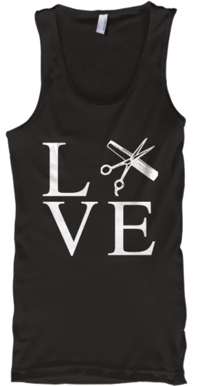 hair stylist tank top shirt