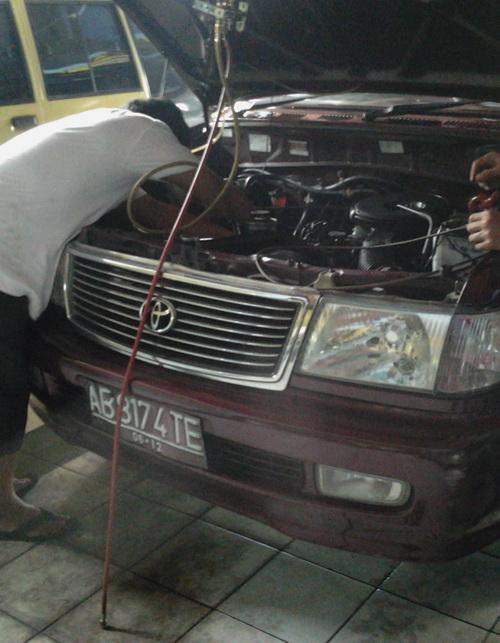 Perbaikan Doublle Blower Ac Mobil Kijang Kapsul