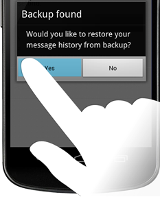 Whats App Message Backup