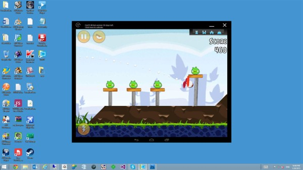 Turn your PC into an Android tablet