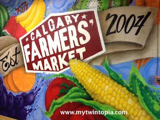 Calgary Farmers Market Wall Mural