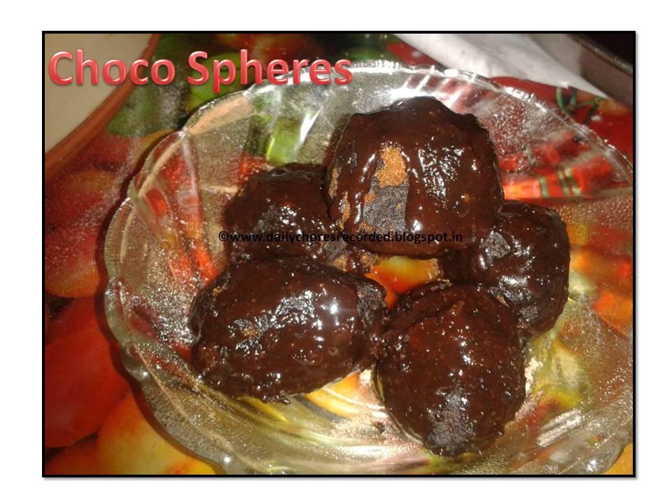 Choco Spheres