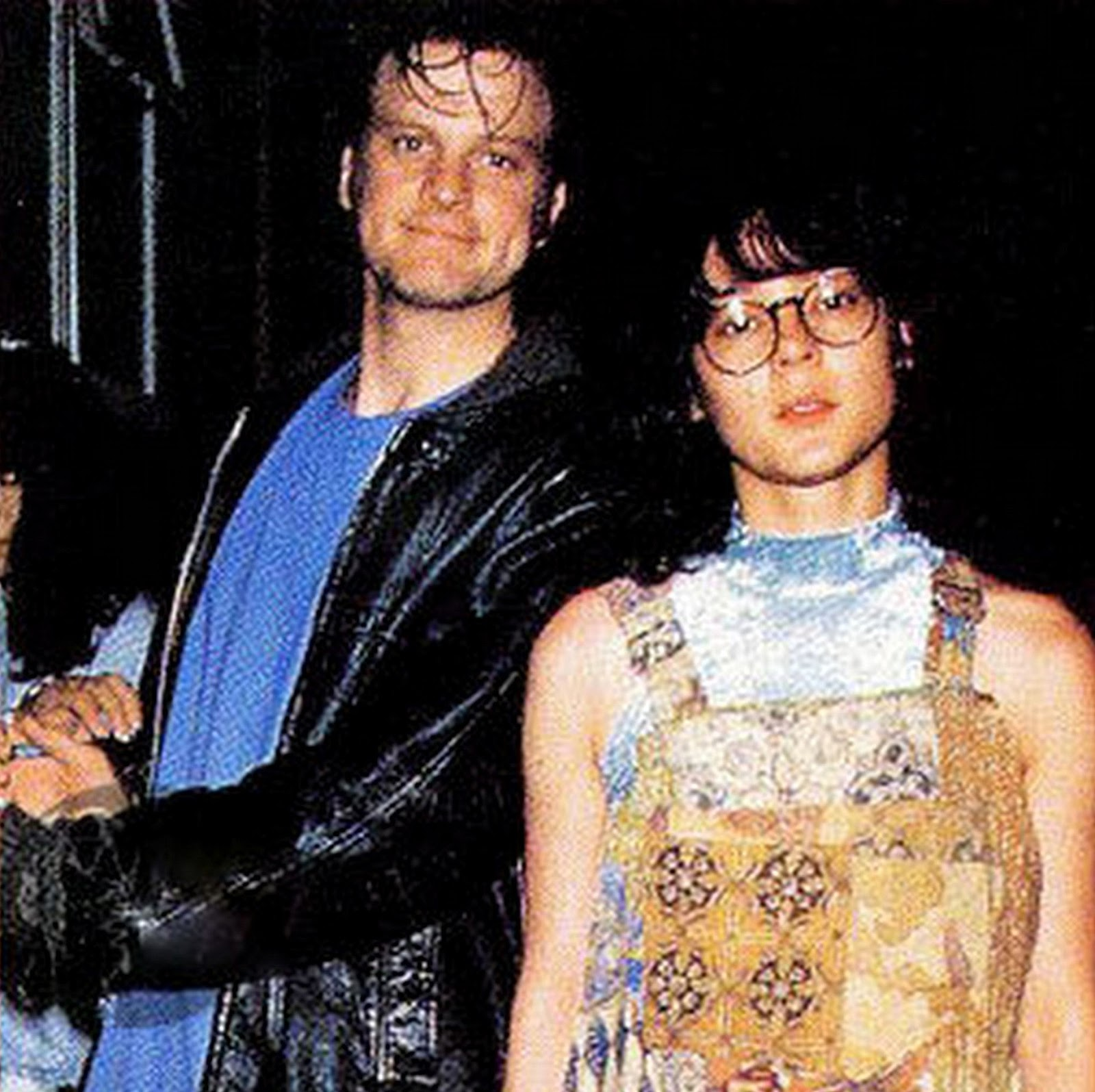 Meg Tilly and Colin Fi...