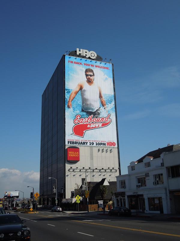 Eastbound and Down season 3 billboard