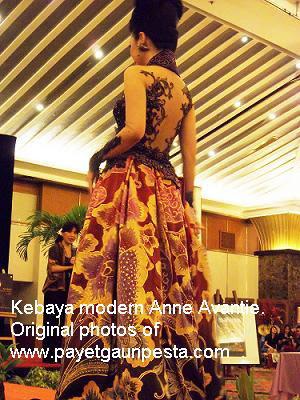 Gaun Pesta Foto Hasil Jahitan Kebaya Modern Pengantin Dan