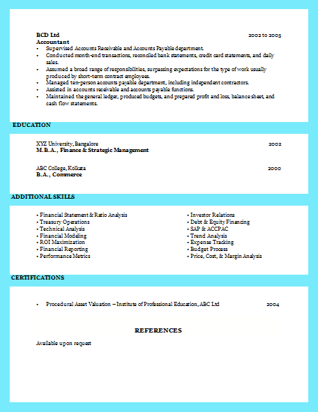 examples of excellent resumes 61
