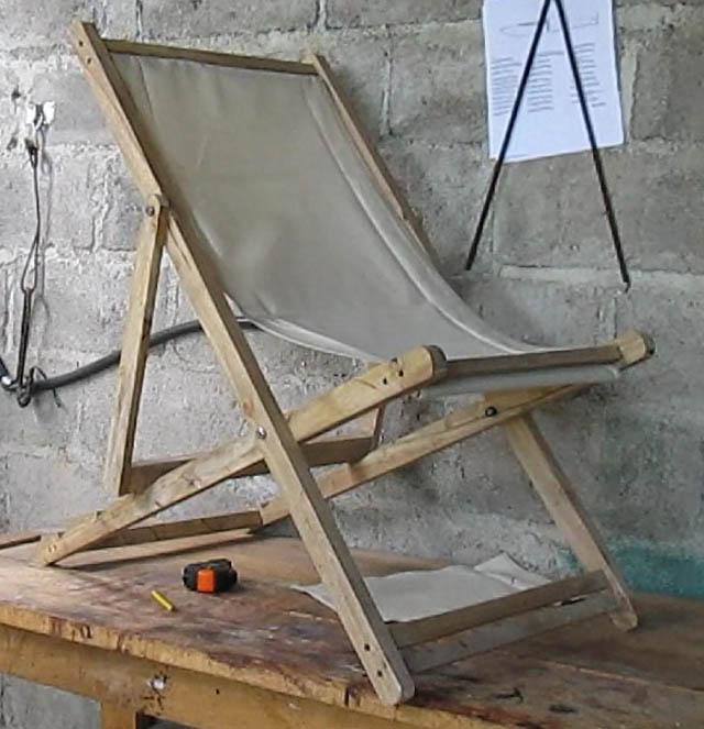 Como hacer una silla perezosa o reposadera piense algo y for Sillas hechas de palets