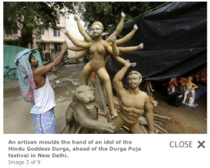 Déesse Durga Durga-sep-2011