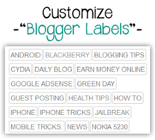 custom blogger cloud label widget