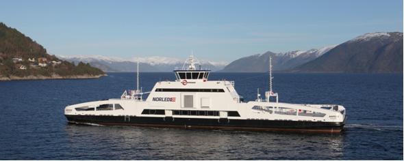 Amper el primer barco con propulsión totalmente eléctrica