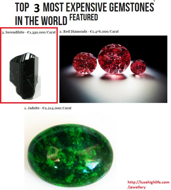 3 jenis batu paling mahal di dunia