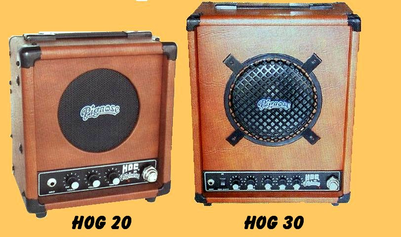 the unique guitar blog the pignose amp elund and kimbell are also responsible for the design of two other pignose industries products these are the hog 20 guitar amp and the hog 30 bass guitar