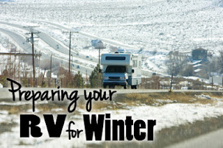 Prepare RV for winter storage