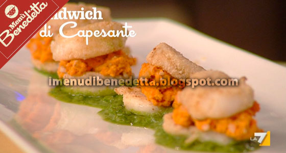Sandwich alle Capesante di Benedetta Parodi