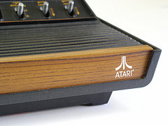Atari 2600 by moparx via Flickr and a Creative Commons license