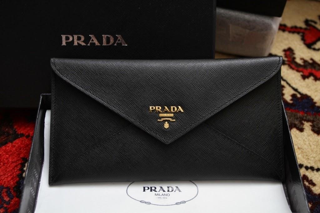 Prada Saffiano Wallets