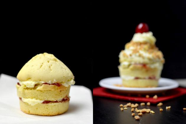ja-sagerin.de // frankfurter kranz cupcakes