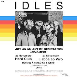 Britânicos IDLES em Portugal