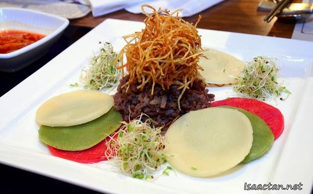 #1 Sauteed Beef Wraps or Sogogi Milssam - RM19.90