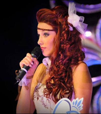 Delphine Wespiser Miss France 2012 Hairstyles 4