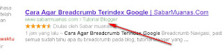 Cara Membuat Breadcrumb di Blog Terindex Google