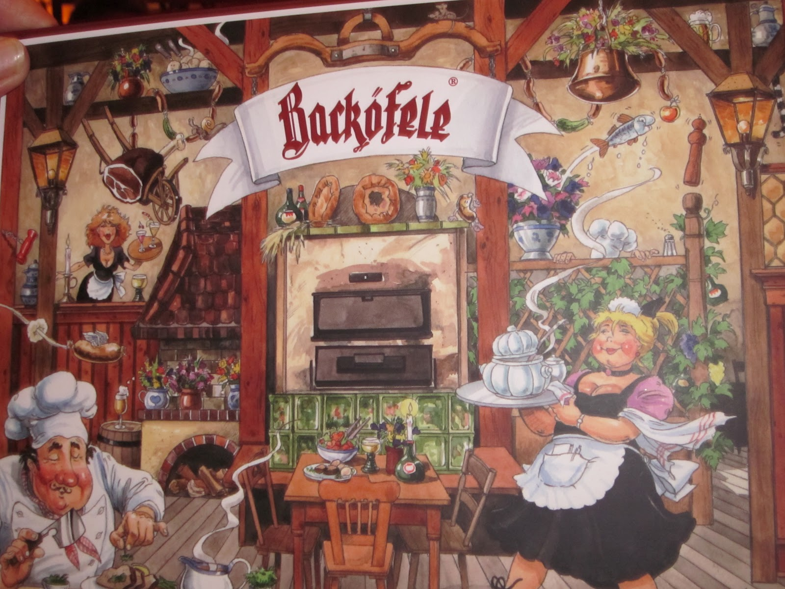 To Europe With Kids: Review of Backöfele Restaurant in ...