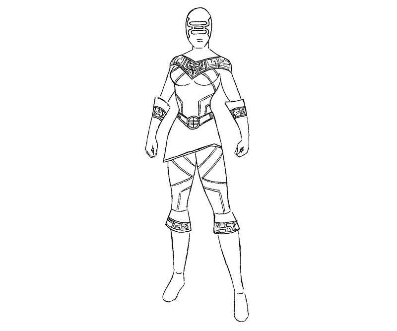 pink power ranger coloring pages - photo#12