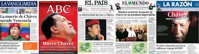 Portadas La Vanguardia, ABC, El País, El Mundo, La Razón