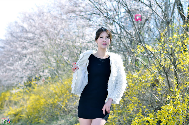 5 Choi Byeol Ha Outdoor  - very cute asian girl - girlcute4u.blogspot.com