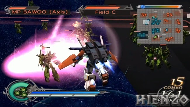 Dynasty Warriors Gundam 2 PS2 Gameplay