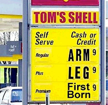 Gas Prices - I-Exit Guide