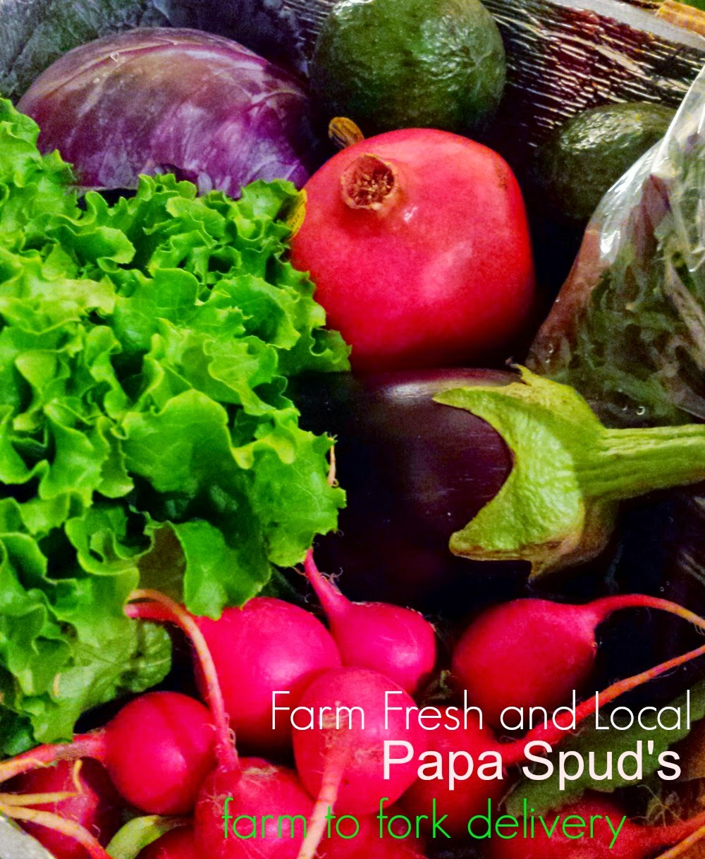 Eathing Healthier with Farm to Fork Delivery Service: Papa Spud's