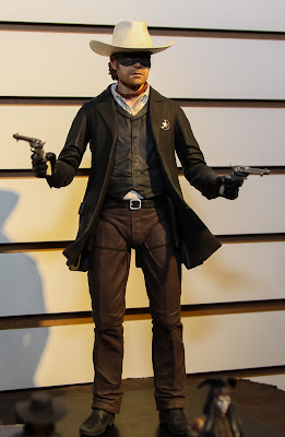 NECA 2013 Toy Fair Display Pictures - The Lone Ranger figures
