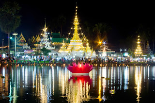 Loi Krathong : Valentine Day of Thailand