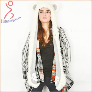 Panda bear spirit hoods