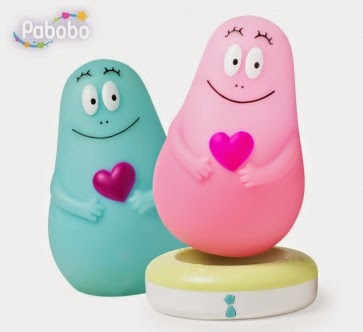 Madhouse Family Reviews: Pabobo Lumilove Barbapapa Night ...