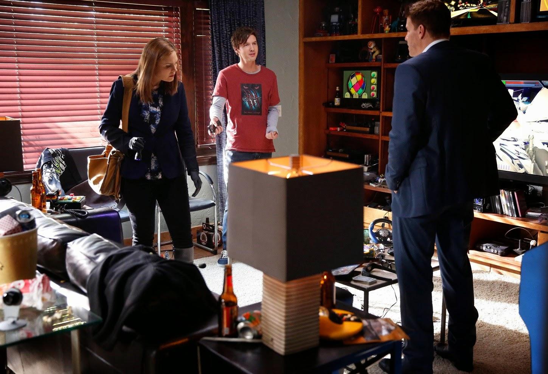 Bones 10x04. Booth, Brennan y Sospechoso.