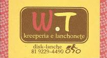 W.T Kreeperia e lanchonete - Cohab I, Proximo a Escola Pr° Mª Galvão -  FONE: 9229 - 4490