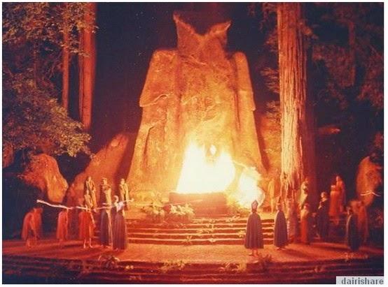 Kumpulan Satanisme Penyembah Patung Batu Oleh Orang2 Besar Amerika
