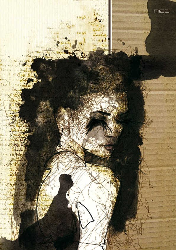 07-Clara-Florian-Nicolle-neo-Portrait-Paintings-focused-on-Expressions-www-designstack-co