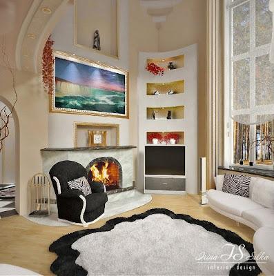 salón de lujo