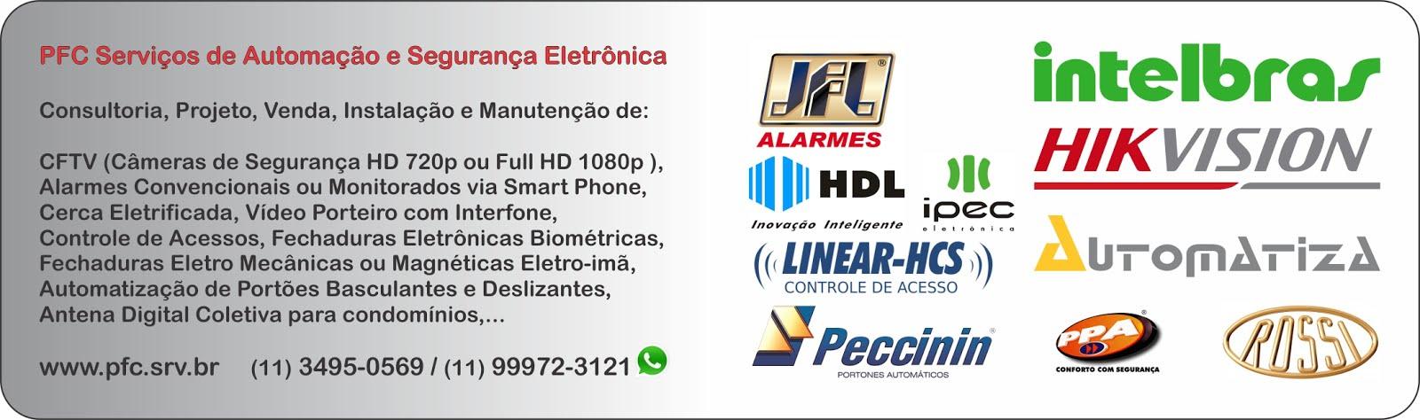 PFC Serviços de Automação e Segurança Eletrônica