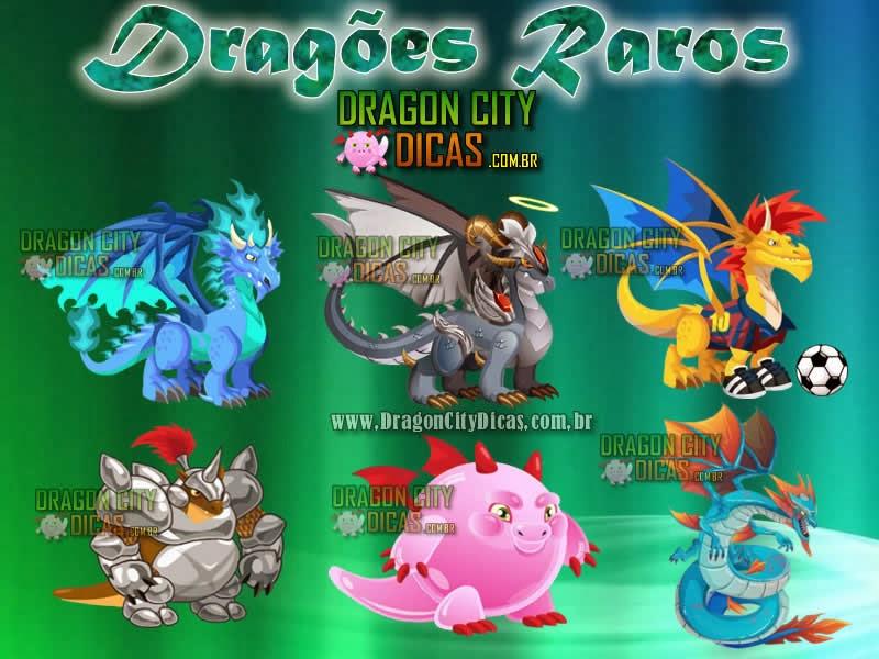Dragões Raros